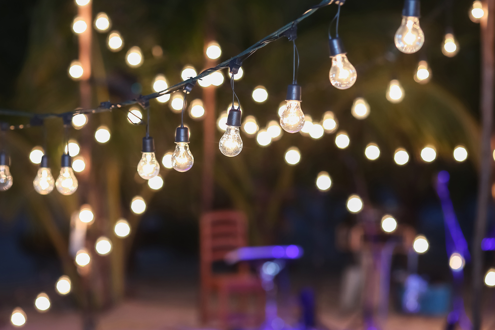 Gear Up For Warm Weather Events With Permanent Festive String Lighting In Lynnwood