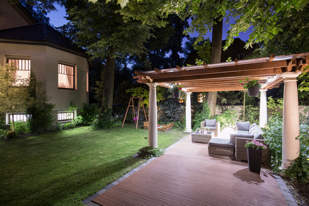 Let New Patio Lighting Enhance Your Kirkland Property